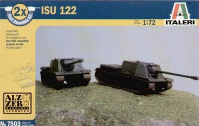 7503 - Soviet ISU 122 Anti Tank Vehicle 1/72