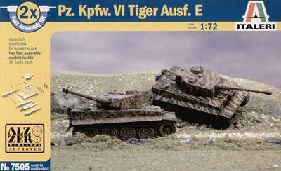 7505 - German Pz KPFW VI Tiger Tank 1/72