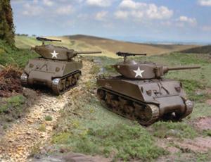 7520 - US Sherman M4A3E2 'Jumbo' Tank 1/72