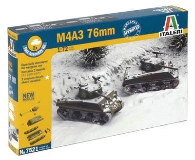 7521 - US Sherman M4A3 76mm 1/72