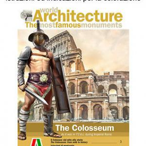 Italeri 68003 the colosseum imperial rome after 82 1