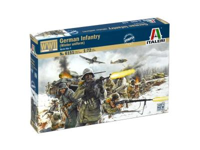 6151 - German Infantry (Winter uniform) 1/72