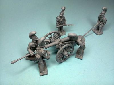 JS72-0767 Artillerie de la cheval Russe 1/72