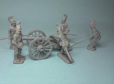 JS72-0773 Artillerie à cheval Russe 1/72