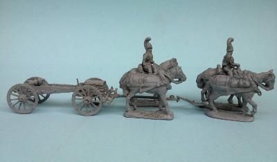 JS72-0798 Russian Guard Artillery (Set II) 1805/07 1/72