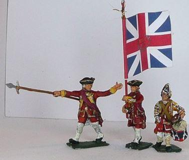 JS72/7042 - Fusiliers anglais Commandement 1/72