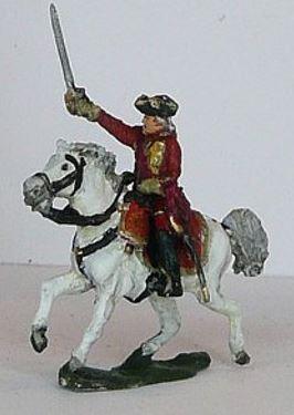 JS72/7043 - Général à cheval anglais 1/72