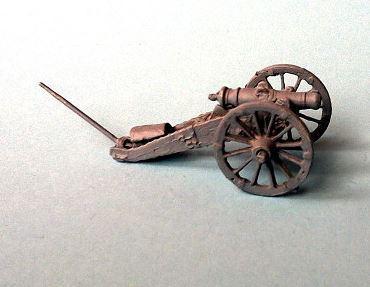 JS72-0742 arillerie à cheval avec obusier de 10 (Arakacheev-System)1/72