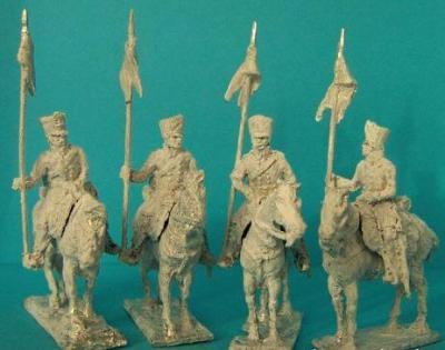 JS72/0346 - Cavaliers de la Landwehr Prussien 1/72