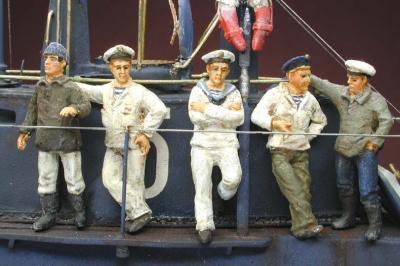 NIK-KUK 02 - KUK Marine - U-Boot Besatzung 1/72