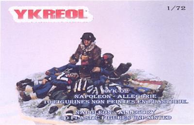 KYK02 - NAPOLEON - ALLEGORIE 1/72