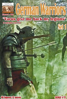 009 - Germanic Warriors Set 1 1/72