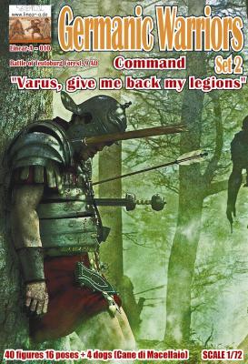 010 - Germanic Warriors Set 2 1/72