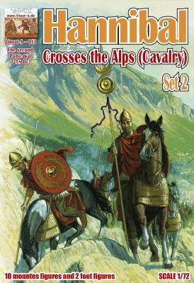013 - Hannibal Crosses the Alps Set 2 1/72