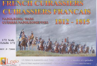 720001 - French Cuirassiers 1/72