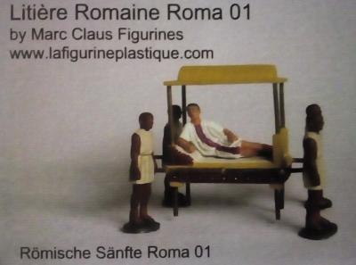 Roma 01 - Litière Romaine 1/72