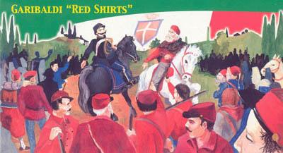 TL0009 - Garibaldi 'Red Shirts' (1860) 1/72