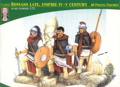TL0002 - Late Empire Romans 1/72