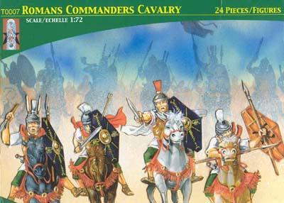 TL0007 - Roman Commander's Cavalry (Trajan) 1/72