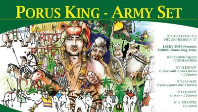 TL0008 - King Porus' Army 1/72