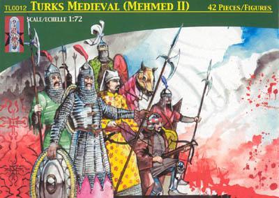 TL0012 - Medieval Turks (Mehmed II) 1/72