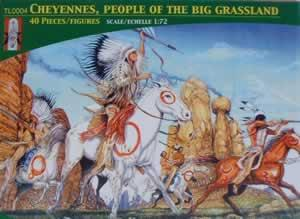 TL0004 - Cheyennes, People of the Big Grasslands 1/72