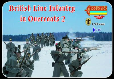 M097 - British Line Infantry in Overcoats 2 1/72