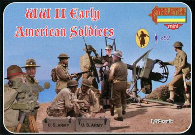 M105 - World War II Early American Soldiers 1/72