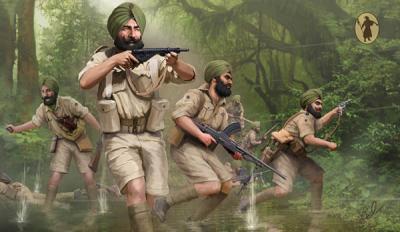 M119 - Indian Infantry WW2 1/72