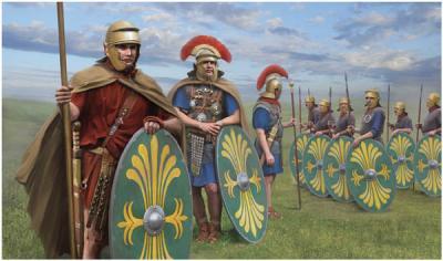 M124 - Roman Auxiliaries Ranks 1/72