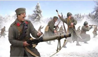 M126 - Serbian Infantry in Winter Uniform (WWI) 1/72