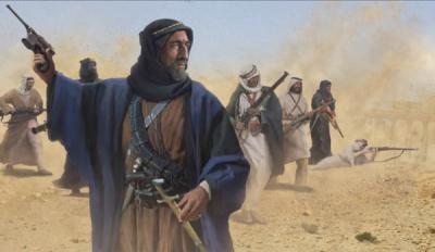 M127 - Arab Revolt Foot Rebels 1/72