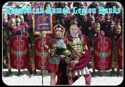 M099 - Republican Roman Legion Ranks 1/72