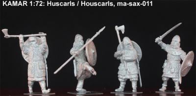 ma-sax-011 Housecarls 1066 1/72
