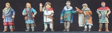 ma-vik-019 Civils Marchands Vikings 1/72