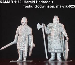 MA-VIK-023 Harald Hadrada avec Tostig Godwinson, 1/72
