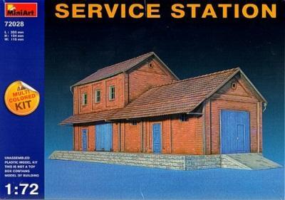 72028 - Service Station (European) 1/72