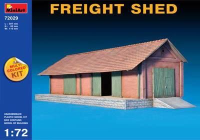 72029 - Freight Shed (European) 1/72