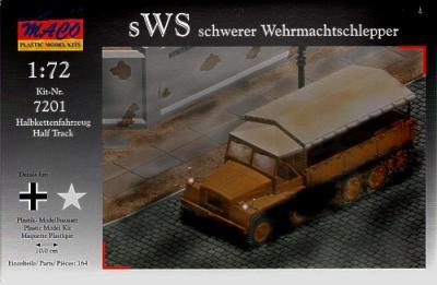 7201 - Schwerer Wehrmachtschlepper/sWS half track 1/72