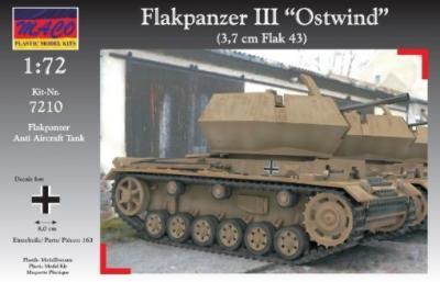 7210 - Flakpanzer III Ostwind 1/72