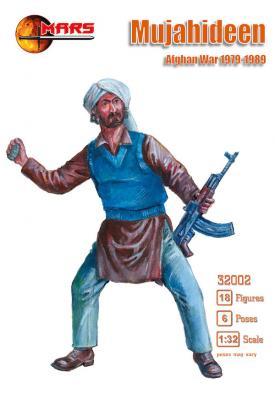 32002 - Mujahideen Afghan war 1979 -1989