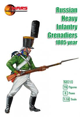 32010 - Russian Heavy Infantry Grenadiers Waterloo