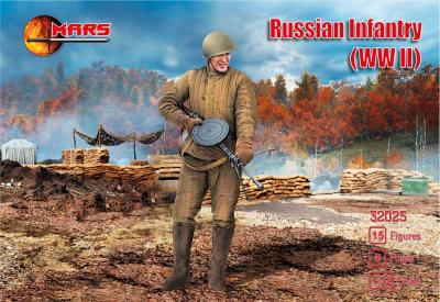 32025 - Russian Infantry (WWII) 1/32