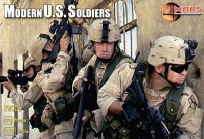72003 - Modern US Soldiers 1/72