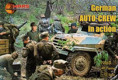72013 - German Auto-Crew in Action 1/72