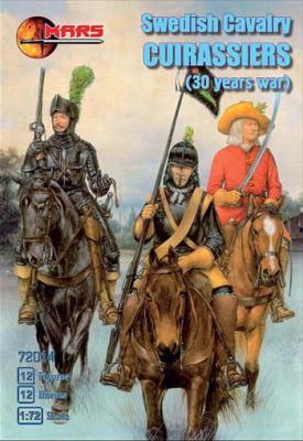 72014 - Swedish Cavalry Cuirassiers 1/72