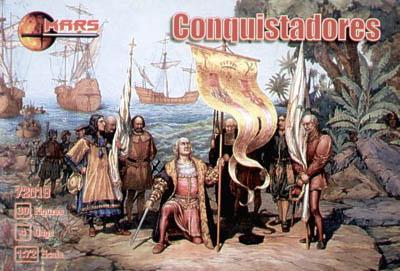 72019 - Conquistadores 1/72