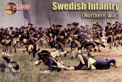 72020 - Swedish Infantry 1/72
