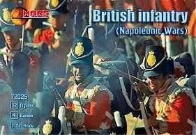 72025 - Napoleonic British Infantry 1/72