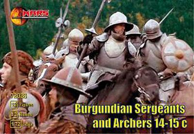 72026 - Burgundian Sergeants and Archers 1/72